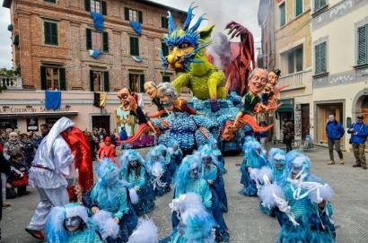 Foiano della Chiana: al via dal 5 febbraio al 5 marzo la 478 esima edizione del più antico carnevale d'Italia