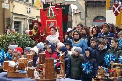 Mezzogiorno in Famiglia a Cortona - Le foto del dietro le quinte