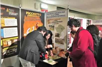 """Picchetto l'archeologo """"scopre""""  la Tomba della Quadriga infernale di Sarteano"""