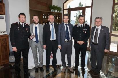 Grifo Poliziano straordinario al Capitano dei Carabinieri Ernesto Fusco