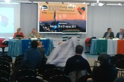 Aperto ad Arezzo il diciottesimo congresso della Cisl
