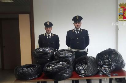 Contrabbando di sigarette: arrestati dalla Polizia di Stato