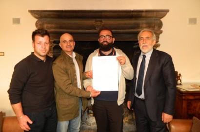 Ponte di solidarieta' tra Enalcaccia Arezzo e Norcia
