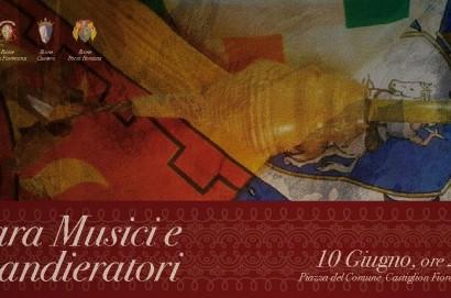 Sabato 10 giugno a Castiglion Fiorentino Gara dei Musici e Sbandieratori