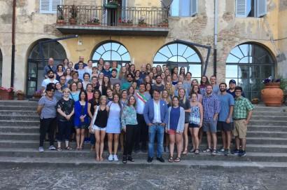 150 studenti a Castiglion Fiorentino con il Santa Chiara Study Centre