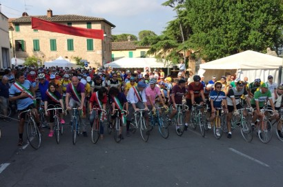 La Chianina Ciclostorica 2017 con oltre 450 partecipanti
