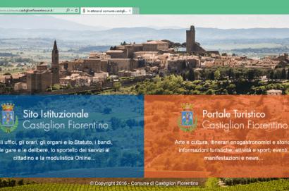 A Castiglion Fiorentino un solo indirizzo per il sito istituzionale e il portale turistico