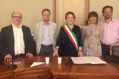 Monte San Savino: insediato il nuovo consiglio comunale e nominata Ia giunta