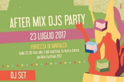 After Mix Party domenica al Girifalco