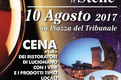 """""""Lucignano sotto le stelle"""", il borgo festeggia San Lorenzo"""