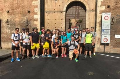 Via Lauretana: Torrita crocevia di pellegrini in questo caldo agosto