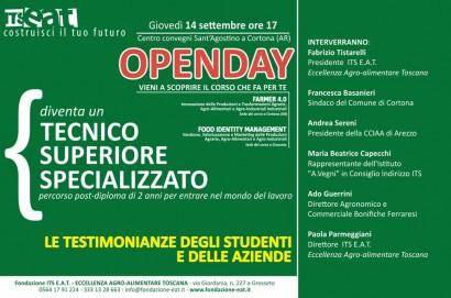 Cortona: La scuola del futuro e' arrivata. Open Day per conoscere il nuovo indirizzo scolastico Farmer 4.0