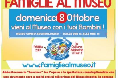 Famigliealmuseo, domenica a Castiglion Fiorentino