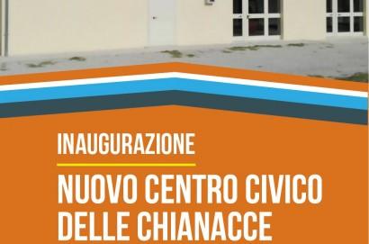 Nuovo Centro Civico a Chianacce