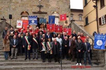 Festeggiati i 25 anni del Calcit Cortona Valdichiana - Le foto