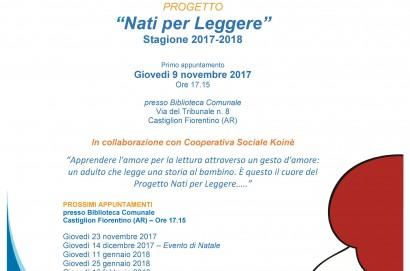 Nati per leggere, riparte la nuova stagione a Castiglion Fiorentino