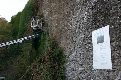 Partiti i lavori di recupero e restauro del tratto murario e dei passaggi di accesso della Fortezza del Girifalco