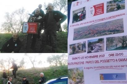 Un nuovo parco per la Comunità di Camucia.