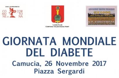 Iniziativa a Camucia per la giornata Mondiale del Diabete