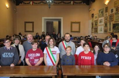 Camilla Menchi è il nuovo Sindaco dei Ragazzi di Montepulciano