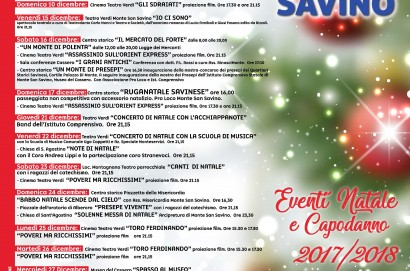 Primo weekend di Natale a Monte San Savino