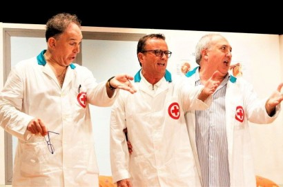 """Riparte il festival del teatro amatoriale con """"Gli allegri chirurghi"""""""