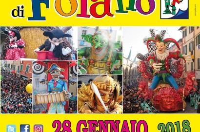 Dal 28 gennaio al 25 febbraio torna il Carnevale di Foiano della Chiana, è la 479 esima edizione