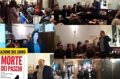A Cortona, apericena elettorale dei Cinquestelle  con Gagnarli e Giannarelli.