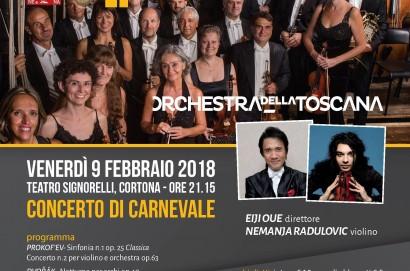 Concerto di Carnevale al Teatro Signorelli di Cortona