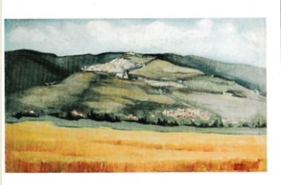 Visita alla pittrice Donatella Marchini.