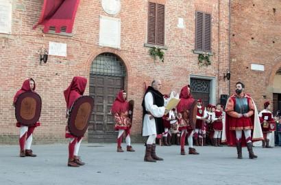 A Torrita di Siena inizia il Palio dei Somari 2018: ed è subito festa