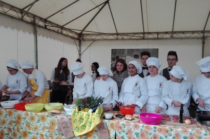 Alla 65° Fiera Del Vitellone di Razza Chianina un originale e seguitissimo cooking show