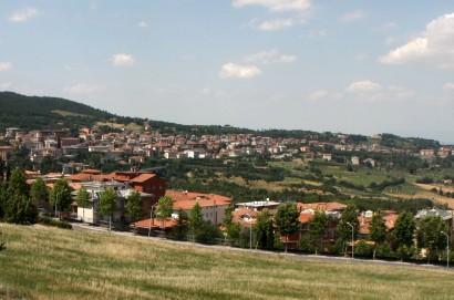 Franato un tratto della SP 146 tra Chianciano Terme e Montepulciano