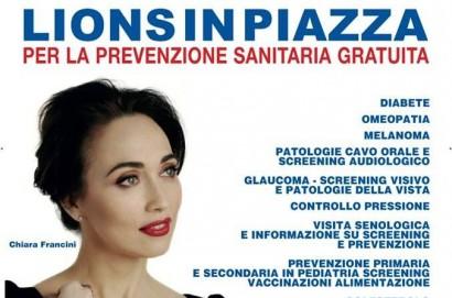 Lions in piazza: giornata di visite mediche gratuite al Valdichiana Outlet Village