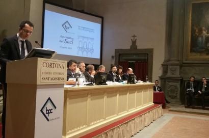 Banca Popolare di Cortona in assemblea il 22 Aprile al Centro Convegni Sant'Agostino