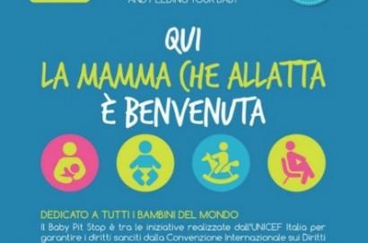 Baby Pit Stop, postazioni dislocate nel territorio comunale dedicati alle mamme che allattano al seno o usano il biberon