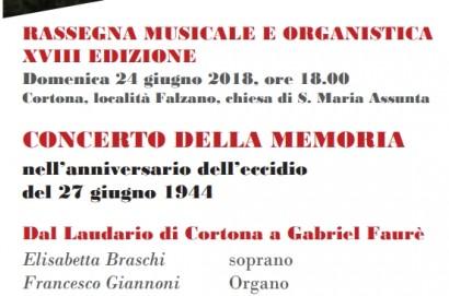 Concerto d'organo a Falzano