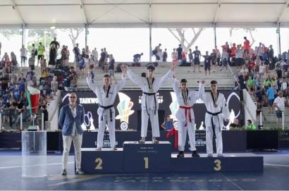 Il savinese Francesco Romanelli campione d'Italia di Taekwondo