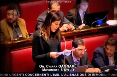 L'onorevole Gagnarli in difesa della Cantarelli di Terontola.