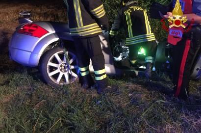 Incidente stradale a Foiano, grave un 45enne
