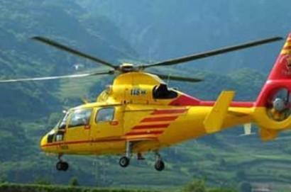 Uomo caduto con un deltaplano a Castiglion Fiorentino