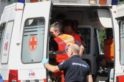 Uomo cade dalla scala a Castiglion Fiorentino