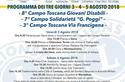Iniziativa di solidarietà Sabato 4 agosto del Lions Cortona