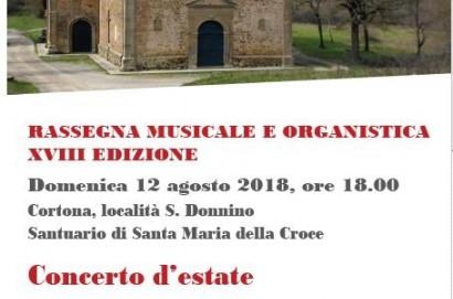 XVIII rassegna musicale e organistica a Cortona: i concerti di agosto e settembre