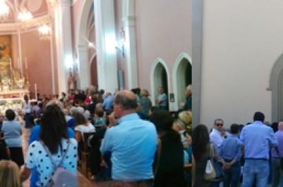 I funerali del ventiduenne Nicola Battaglini
