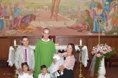 Cesa: battesimo di Linda Valentini