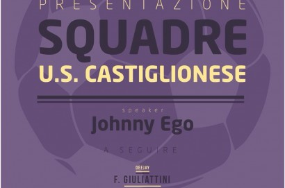 Questa sera presentazione delle squadre della Castiglionese