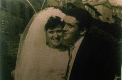 Marino e  Graziella: cinquant'anni insieme.