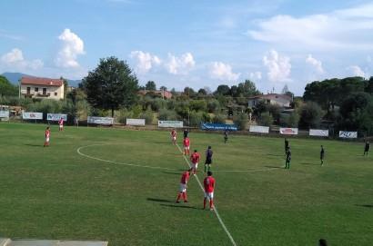 ASD Fratta Santa Caterina - Tegoleto 0 - 1. Un esordio con luci ed ombre per i padroni di casa.
