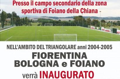 Inaugurazione campo in sintetico con il triangolare fra Fiorentina, Bologna e Foiano